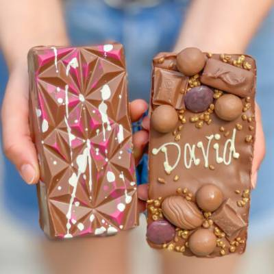 Personalised Chocolate Loaded Choco Bloc