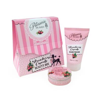Strawberry Cupcake Beauty Box