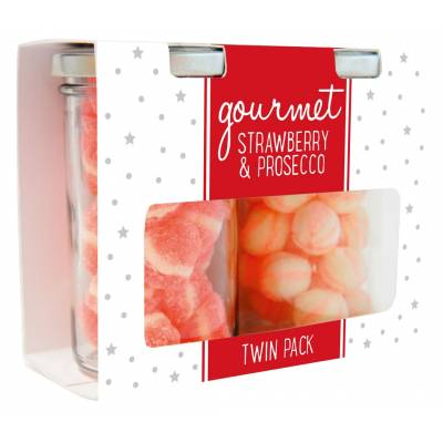 Gourmet Strawberry and Prosecco Sweets