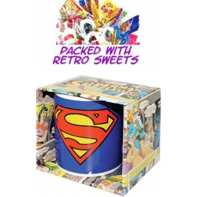 Superman Cuppa Sweets