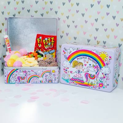 Kids Princess Treasure Sweets Tin - Funkyhampers Gifts
