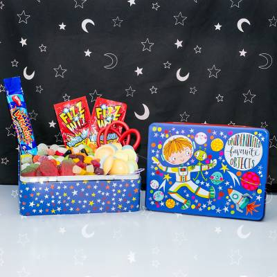 Kids Unidentified Favourite Objects Sweets Tin - Funkyhampers Gifts