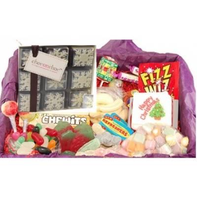 Christmas Sweetie Box - Funky Hampers