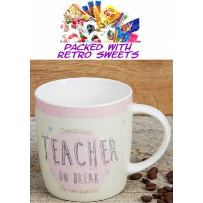 Teacher on Break Cuppa Sweets - Sweets Gifts