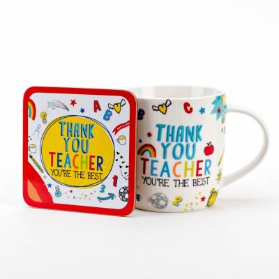 Thank You Teacher Mug Set
