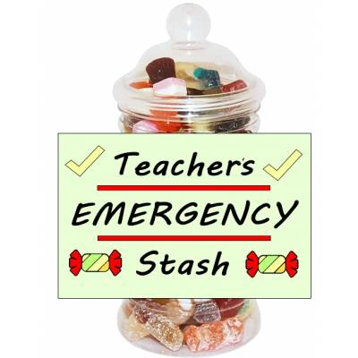 Teachers Stash Sweet Jar