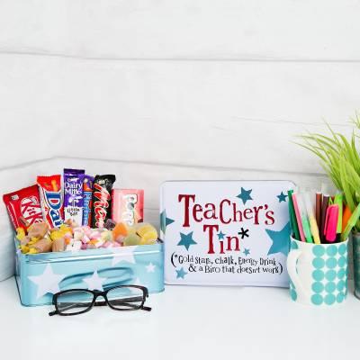 Teachers Treats Tin