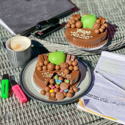 Teacher Mini Smash Cake
