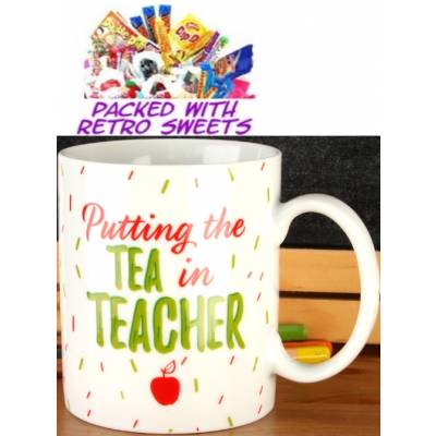 Tea in Teacher Cuppa Sweets - Sweets Gifts