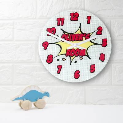 Personalised Comic Wall Clock