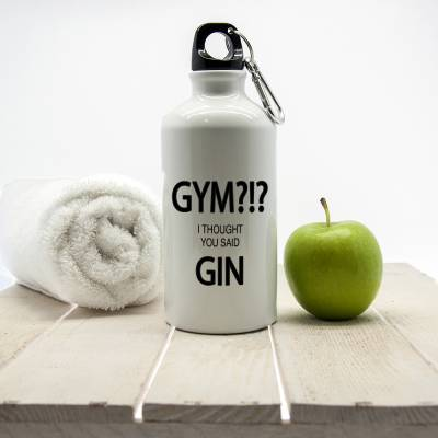 Personalised I Thought You Said Gin Personalised Water Bottle
