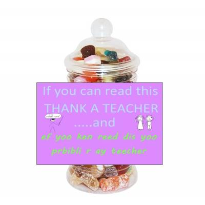 Thank A Teacher Sweet Jar
