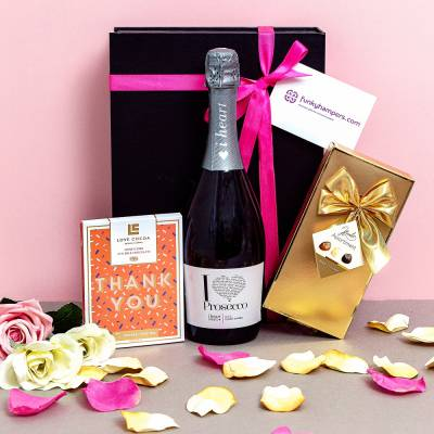 Thank You Prosecco and Chocolates Hamper