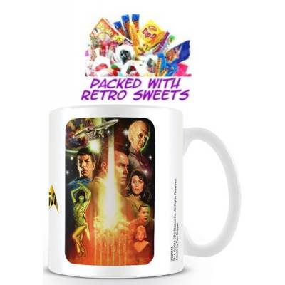 Star Trek Series Cuppa Sweets - Sweets Gifts