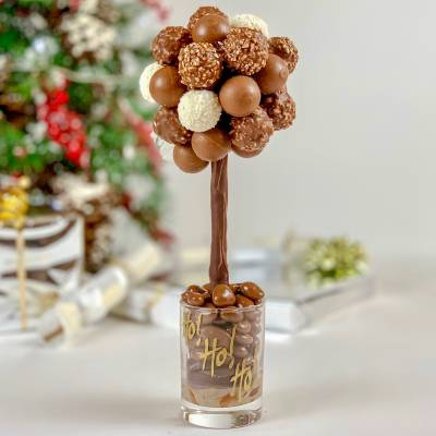 Personalised Truffles Funky Sweet Tree 25cm