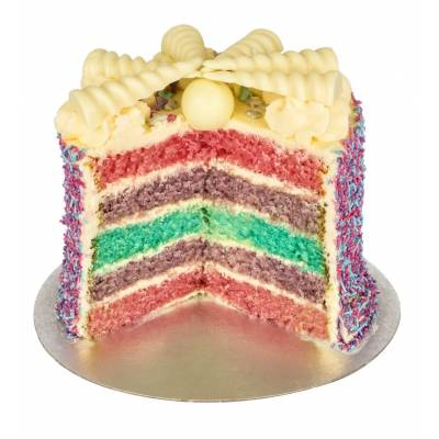 The Unicorn Rainbow Cake