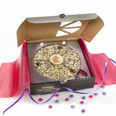 Magical Unicorn 7 inch Chocolate Pizza