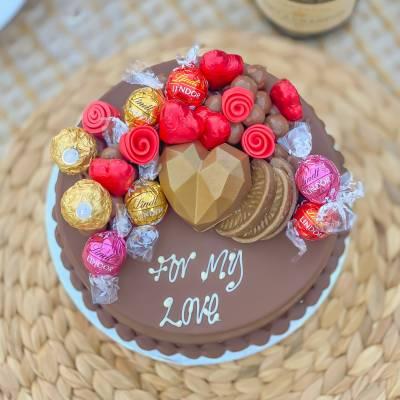 Valentines Smash Cake