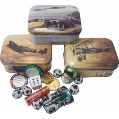 Vintage Aircraft Chocolates Tin