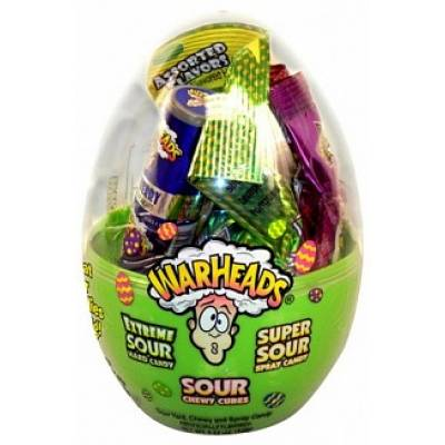 War Heads Sour Sweets Egg
