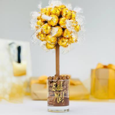 White Lindt Lindor Chocolate Tree