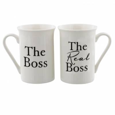 The Boss Mug Set
