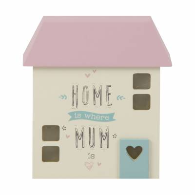 Home is Where Mum is Wooden House