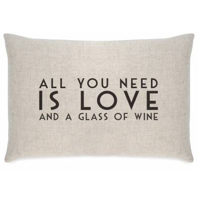 All You Need is Wine Cushion