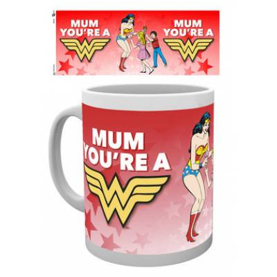Wonder Mum Cuppa Sweets - Sweets Gifts