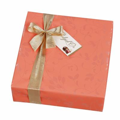 Large Gift Wrapped Belgian Chocolates