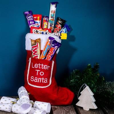 Christmas Chocolates For Kids Christmas Chocolate Stocking