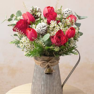 Christmas Roses & Tulips