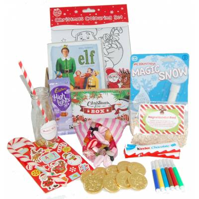 the magical elf christmas eve box funky hampers