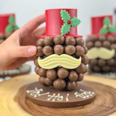 Personalised Christmas Chocolate Head