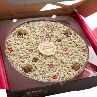 Christmas Chocolate 10 Inch Pizza