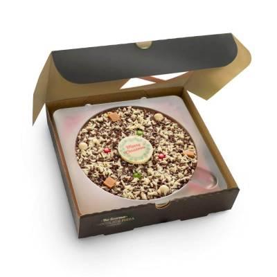 Christmas Chocolate 10 Inch Pizza