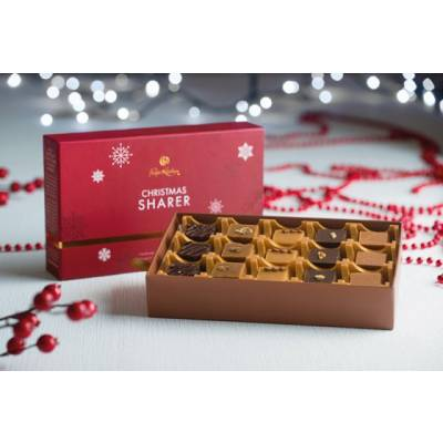 15 Piece Christmas Sharing Fudge 330g