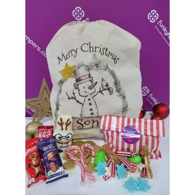 Merry Christmas Son Sweets and Chocolate Sack