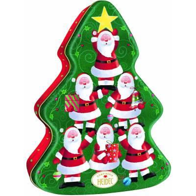 Christmas Time Chocolates Tin