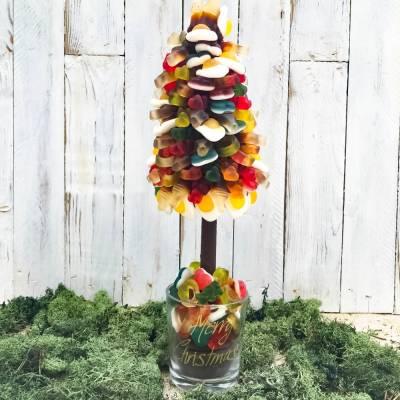 Personalised Haribo Christmas Tree 35cm