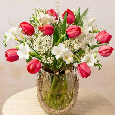 Festive Tulips