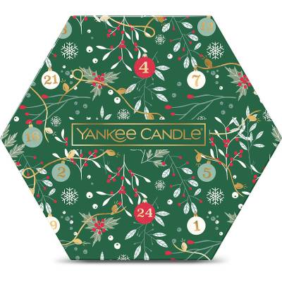 Yankee Candle 18 Tealight 1 Holder Christmas Gift Set