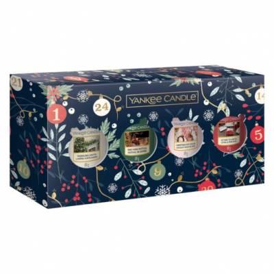 Yankee Candle 4 Votive Christmas Gift Set