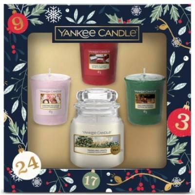 Yankee Candle Small Jar 3 Votive Christmas Gift Set