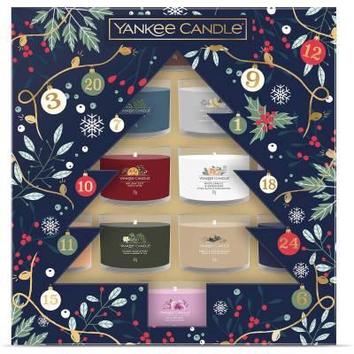 Yankee Candle 12 Filled Votives Christmas Gift Set