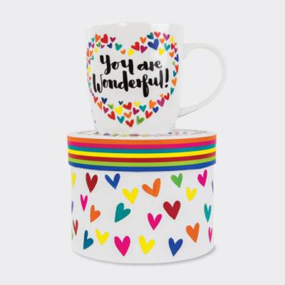 You Are Wonderful Mug and Box