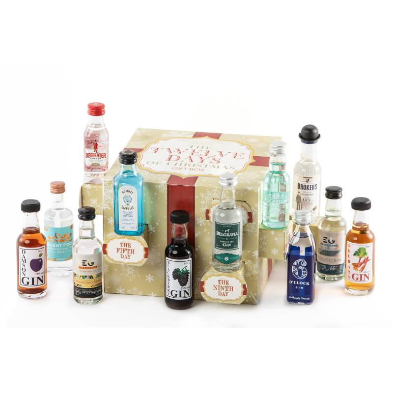 12 Days Of Christmas Gin Gift Funky Hampers