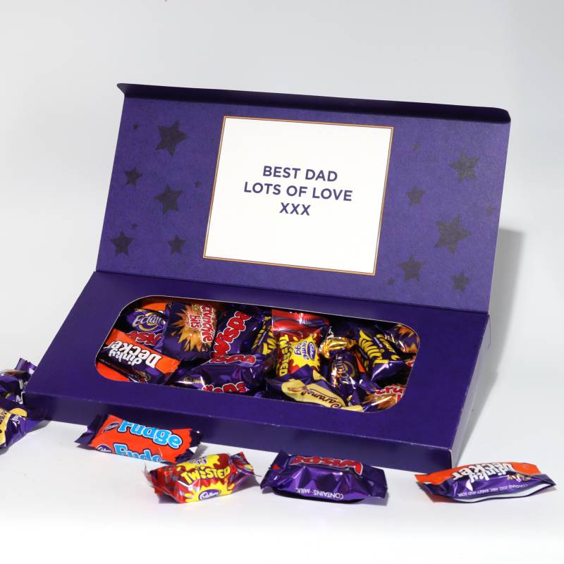 Personalised Cadbury Heroes Small Letterbox Selection 290g