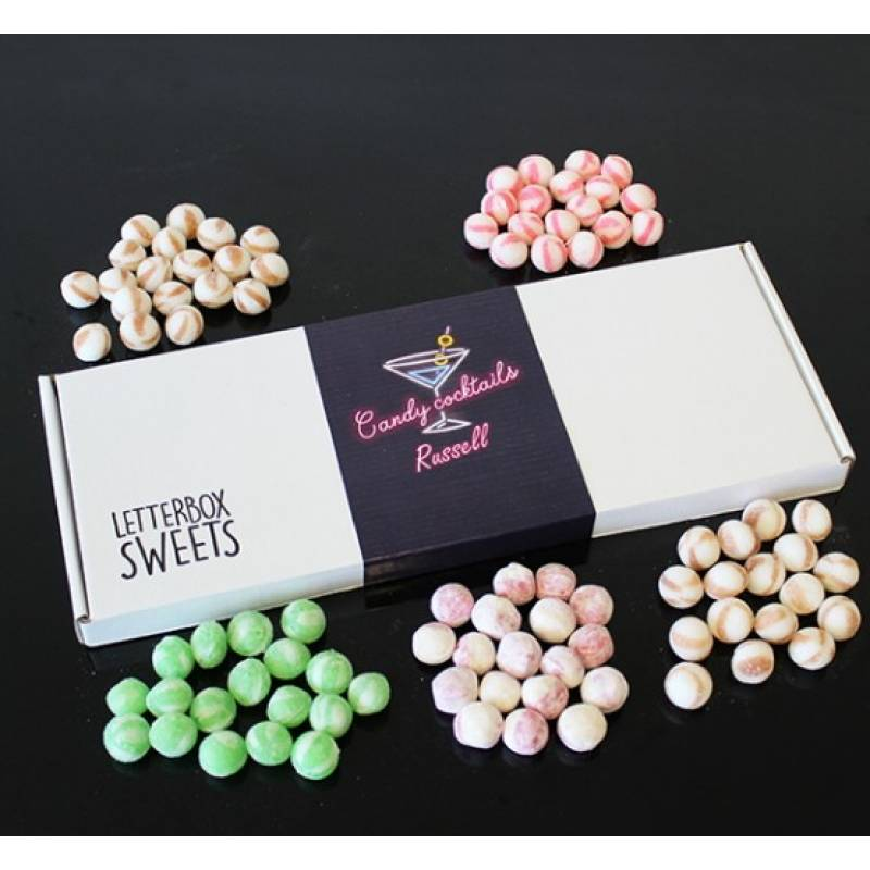 Personalised Cocktail Candies Gift