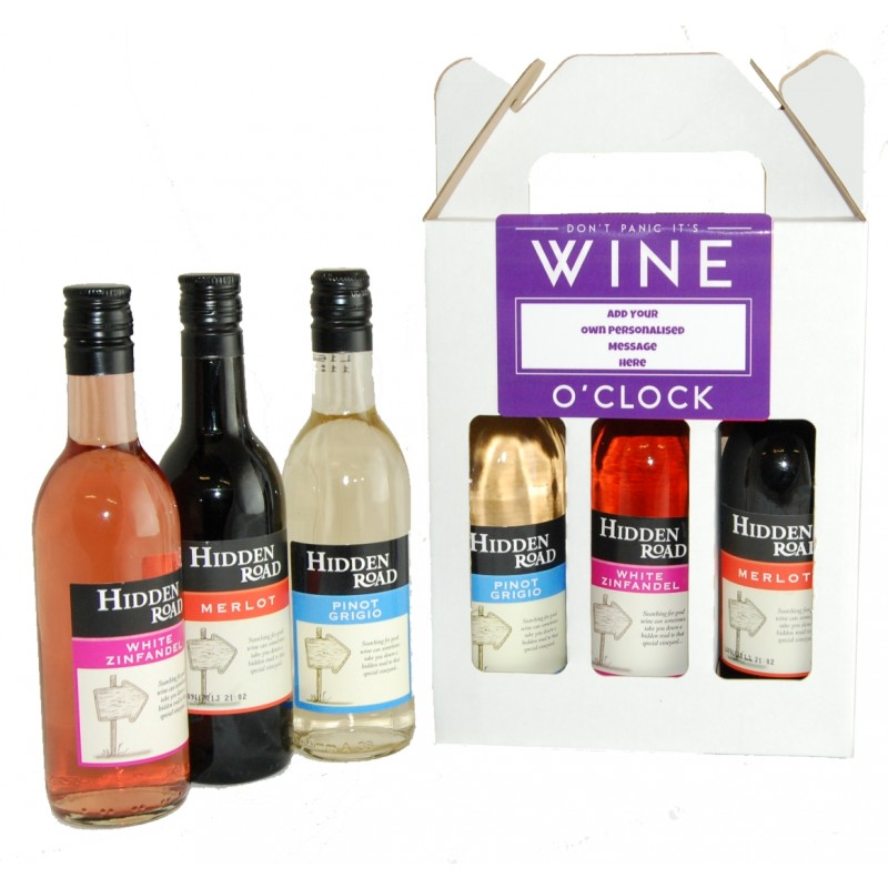 Personalised Wine O'Clock Gift